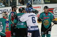 Blaze v Belfast Giants. October 5 2008.