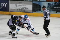 Blaze v Hull Stingrays. October 12 2008.